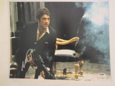 Al Pacino Signed 11x14 Photo Full Auto Godfather Scarface Psa/dna Itp 4a70193