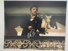 Al Pacino Signed 11x14 Photo Full Auto Godfather Scarface Psa/dna Itp 4a70244