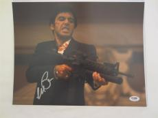 Al Pacino Signed 11x14 Photo Full Auto Godfather Scarface Psa/dna Itp 4a70284