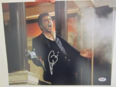 Al Pacino Signed 11x14 Photo Full Auto Godfather Scarface Psa/dna Itp 4a70341
