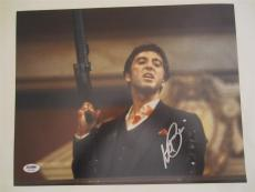Al Pacino Signed 11x14 Photo Full Auto Godfather Scarface Psa/dna Itp 4a70383