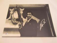 Al Pacino Signed 11x14 Photo Full Auto Godfather Scarface Psa/dna Itp 4a70392