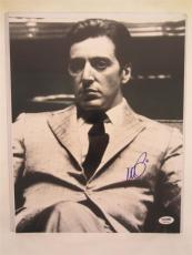 Al Pacino Signed 11x14 Photo Full Auto Godfather Scarface Psa/dna Itp 4a70475