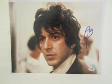 Al Pacino Signed 11x14 Photo Full Auto Godfather Scarface Psa/dna Itp 4a70508