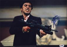 Al Pacino Signed 11x14 Photo Full Godfather Scarface Psa/dna Itp 5a00542