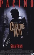 Al Pacino Signed 11x17 Mini Poster Full Auto Carlitos Way  Psa/dna Itp