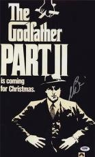 Al Pacino Signed 11x17 Mini Poster Full Auto Godfather Ii 2 Psa/dna Itp X3