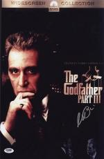 Al Pacino Signed 11x17 Mini Poster Full Auto Godfather Iii 3 Psa/dna Itp X2