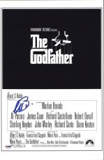 Al Pacino Signed 11x17 Mini Poster Full Auto Godfather  Psa/dna Itp 5a00821