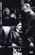Al Pacino Signed 11x17 Mini Poster Full Auto Godfather Psa/dna Itp X1