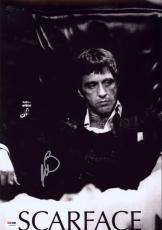 Al Pacino Signed 12x18 Scarface Mini Poster Photo Psa/dna Itp 7a45161