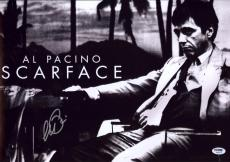 Al Pacino Signed 12x18 Scarface Mini Poster Photo Psa/dna Itp 7a45219