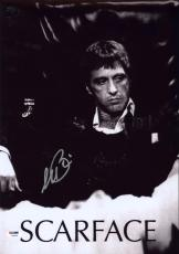Al Pacino Signed 12x18 Scarface Mini Poster Photo Psa/dna Itp 7a45250
