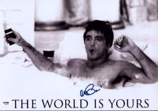 Al Pacino Signed 12x18 Scarface Mini Poster Photo Psa/dna Itp 7a45267