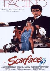 Al Pacino Signed 12x18 Scarface Mini Poster Photo Psa/dna Itp 7a45292