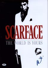 Al Pacino Signed 12x18 Scarface Mini Poster Photo Psa/dna Itp 7a45315