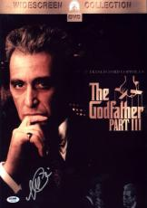 Al Pacino Signed 12x18 The Godfather Iii Mini Poster Photo Psa/dna Itp 7a45182