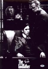 Al Pacino Signed 12x18 The Godfather Mini Poster Photo Psa/dna Itp 7a45245