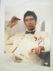 Al Pacino Signed 16x20 Photo Full Auto Godfather Scarface Psa/dna Itp 4a68000