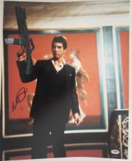 Al Pacino Signed 16x20 Photo Full Auto Godfather Scarface Psa/dna Itp 4a68065