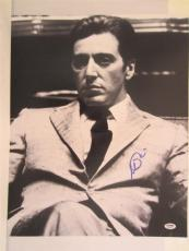 Al Pacino Signed 16x20 Photo Full Auto Godfather Scarface Psa/dna Itp 4a68102