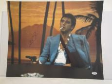Al Pacino Signed 16x20 Photo Full Auto Godfather Scarface Psa/dna Itp 4a68180