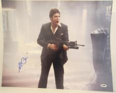 Al Pacino Signed 16x20 Photo Full Auto Godfather Scarface Psa/dna Itp 4a68216
