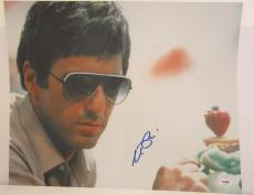 Al Pacino Signed 16x20 Photo Full Auto Godfather Scarface Psa/dna Itp 4a68224