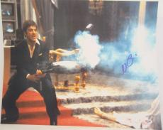Al Pacino Signed 16x20 Photo Full Auto Godfather Scarface Psa/dna Itp 4a68251