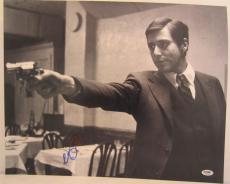 Al Pacino Signed 16x20 Photo Full Auto Godfather Scarface Psa/dna Itp 4a68349