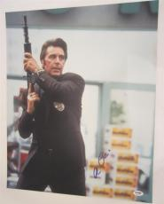 Al Pacino Signed 16x20 Photo Full Auto Heat Scarface Psa/dna Itp 4a68133