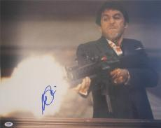 Al Pacino Signed 16x20 Photo Full Godfather Scarface Psa/dna Itp 5a 5