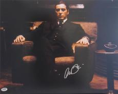 Al Pacino Signed 16x20 Photo Full Godfather Scarface Psa/dna Itp 5a 9