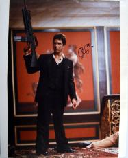 Al Pacino Signed 16x20 Scarface Gun Lil Friend Photo PSA/DNA & Proof AFTAL