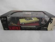 Al Pacino Signed 1963 Cadillac Jada Toys Diecast 1:64 Scarface Psa/dna Itp