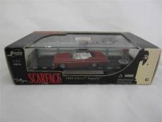 Al Pacino Signed 1968 Chevy Impala Diecast 1:64 Scarface Psa/dna Itp 6a38123