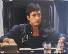 Al Pacino Signed 20x24 Photo Full Godfather Scarface Psa/dna Itp 5a 10