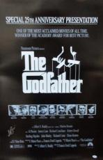 Al Pacino Signed 27x40 25th Anniversary The Godfather Full Size Poster 1