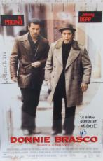 Al Pacino Signed 27x40 Donnie Brasco Full Size Poster 1