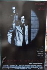 Al Pacino Signed 27x40 Donnie Brasco Full Size Poster 2