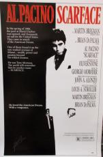 Al Pacino Signed 27x40 Scarface Full Size Poster 2