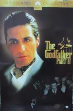 Al Pacino Signed 27x40 The Godfather 2 Full Size Poster 3