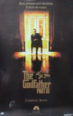 Al Pacino Signed 27x40 The Godfather 3 Full Size Poster 2