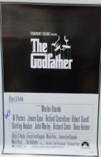 Al Pacino Signed 27x40 The Godfather Full Size Poster 1