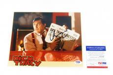 Al Pacino Signed 8 x 10 Color Photo Dick Tracy Movie PSA/DNA Auto