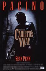 Al Pacino Signed Authentic 11x17 Mini Poster Carlito's Way Psa/dna Itp 6a38300