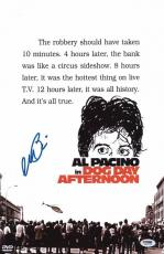 Al Pacino Signed Authentic 11x17 Mini Poster Dog Day Afternoon Psa/dna 5a00723