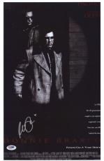 Al Pacino Signed Authentic 11x17 Mini Poster Donnie Brasco Psa/dna Itp 6a38271