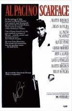 Al Pacino Signed Authentic 11x17 Mini Poster Scarface Psa/dna Itp 5a00798