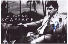 Al Pacino Signed Authentic 11x17 Mini Poster Scarface Psa/dna Itp 5a79138